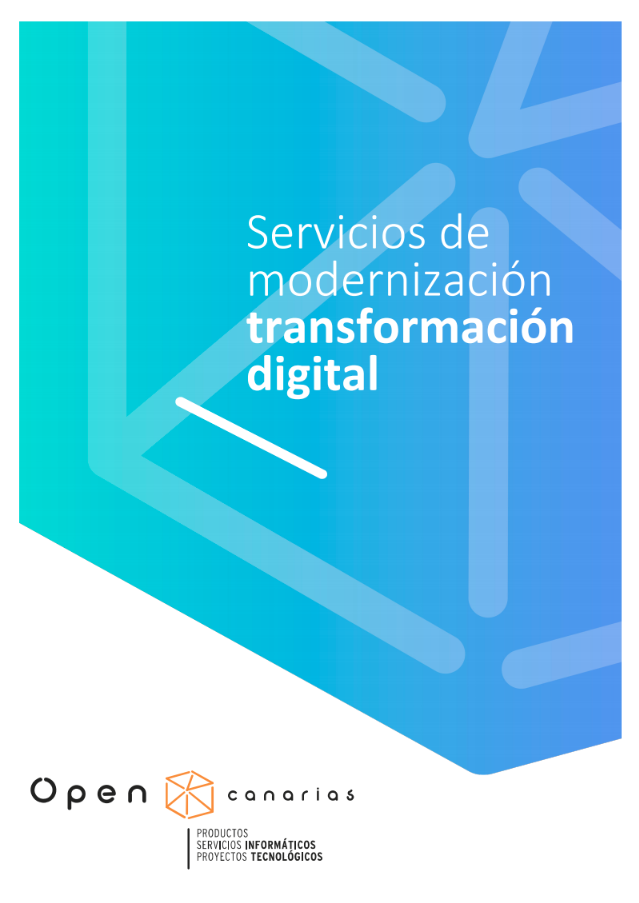 Modernización y transformación digital