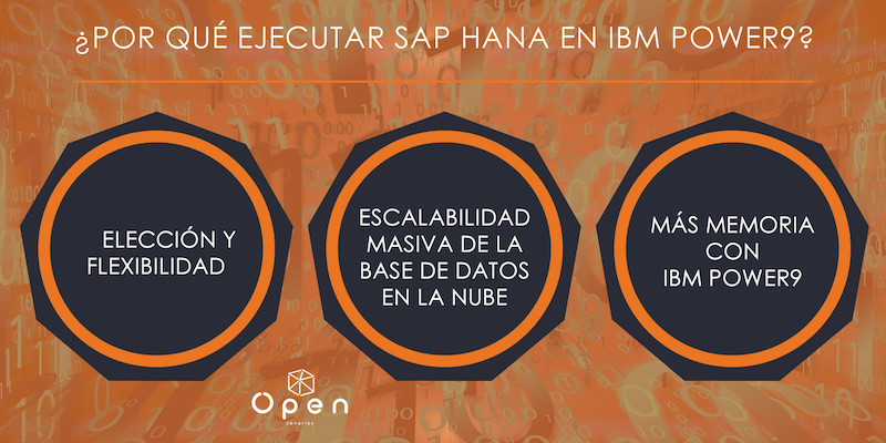 POWER - P005 - Por qué ejecutar SAP HANA en IBM Power9 (2)